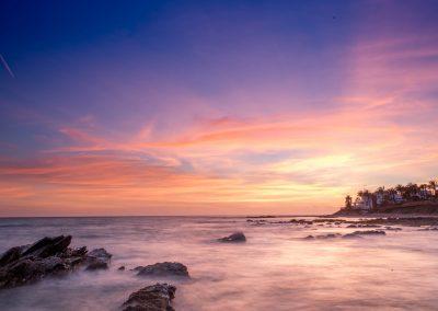 coucher soleil malaga
